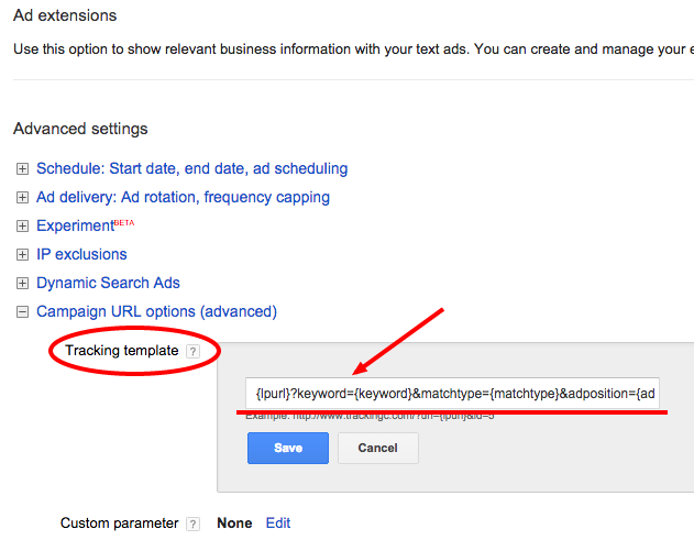 How to pass AdWords keywords through to Unbounce forms